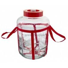 Стеклянная бутыль GK-70, 18 литров