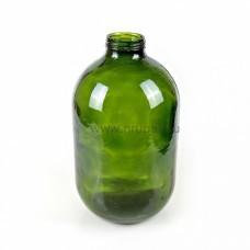 Стеклянная бутыль ТВИСТ 10л (зеленая)