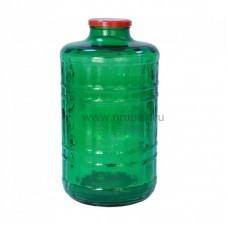"""Стеклянная бутыль """"Казацкий""""  15 литров"""