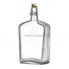 """Стеклянная бутыль (графин) """"Викинг"""" 2 литра"""