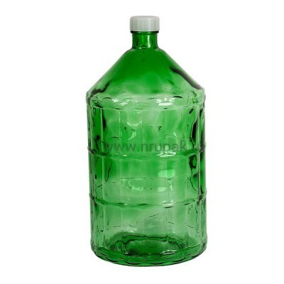 "Стеклянная бутыль ""Казацкий"" 22 литра"