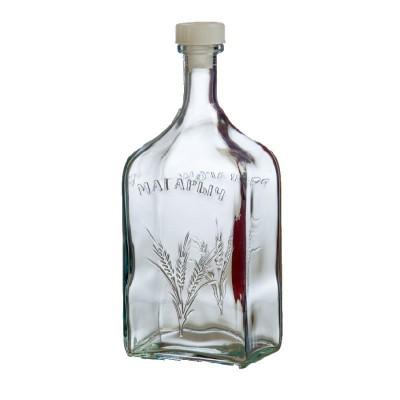 "Стеклянная бутыль (графин) ""Магарыч"" 1,2литра"