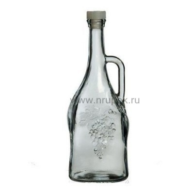 """Стеклянная бутыль (графин) """"Магнум"""" 1,5 литра"""