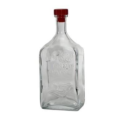 """Стеклянная бутыль (графин) """"Штоф"""" 1,2литра"""