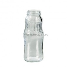 "Бутылка стеклянная ""Сок"" 0,25 л, ТО-43"