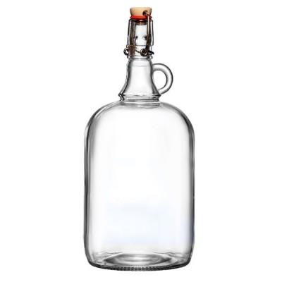 """Стеклянная бутыль (графин) """"Венеция"""" 2 литра"""