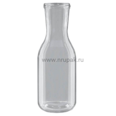 "Бутылка стеклянная ""Вино -2"" 1л,  ТО- 66"