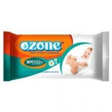 """Салфетки влажные """"Озон"""" 100 шт/ упак, 12 упак/ кор"""