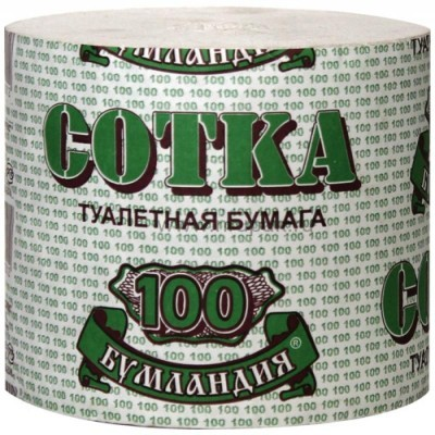 "Туалетная бумага ""100 метров"" 30 шт/ мешок"