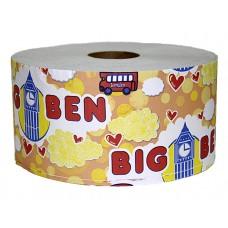 "Туалетная бумага ""Биг Бен"" для диспенсера, 12 шт/ мешок"