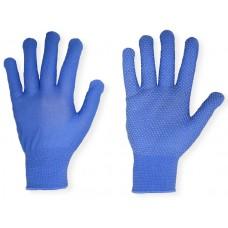 Перчатки нейлоновые с ПВХ точки