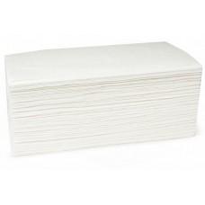 Полотенца бумажные листовые V-сложения, для диспенсера, 20 шт/ кор