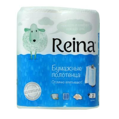 """Полотенца бумажные """"Reina"""" 2х-слойные"""