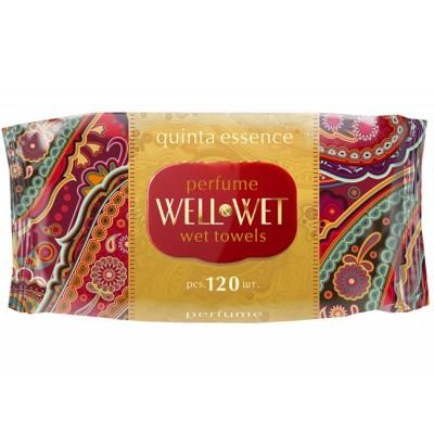 """Салфетки влажные """"WellWet"""" 120 шт/ упак"""