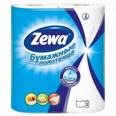"""Полотенца бумажные """"Zewa """" 2х- слойные, 2 шт/ упак, 12 упак/ кор"""