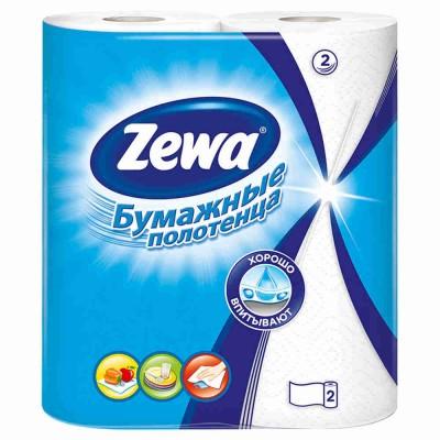 """Полотенца бумажные """"Zewa"""" 2х- слойные"""