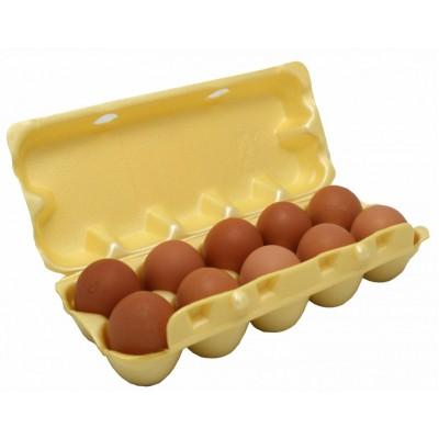 Упаковка для яиц желтая эконом  100 шт/ упак