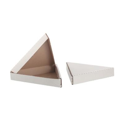 Коробка под пиццу треугольная 260*260*260*40