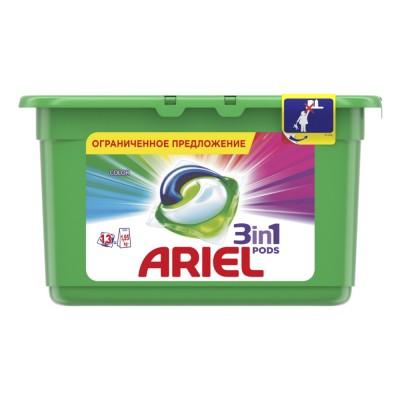 "Гель для стирки в капсулах ""Ariel"", 13 шт х 27 гр"
