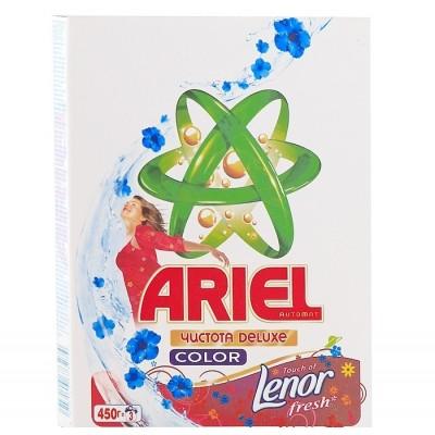 """Стиральный порошок """"Ariel"""" автомат Ленор эффект,  450 гр"""