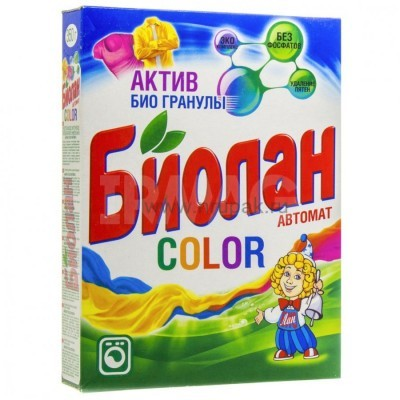 """Стиральный порошок """"Биолан"""" автомат 350 гр"""