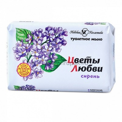 """Мыло """"Цветы Любви"""" 90 гр"""
