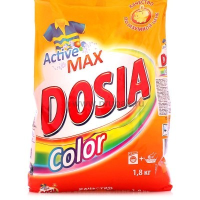 """Стиральный порошок """"Dosia"""" автомат 1,8 кг"""