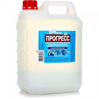 """Моющее средство универсальное """"Прогресс"""" 5 л. канистра"""