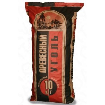 Древесный уголь, 10 кг КАРАНДАШ