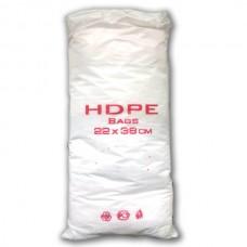 Фасовочные пакеты HDPE bags красн. 22*38,  10 уп/ мешок