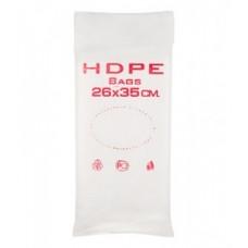 Фасовочные пакеты HDPE bags красн. 26*35,  10 уп/ мешок