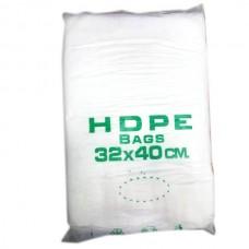 Фасовочные пакеты HDPE bags зелен 32*40,  10 уп/ мешок
