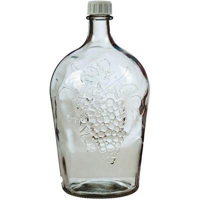 """Стеклянная бутыль (Графин) """"Ровоам"""" 4,5 литра"""