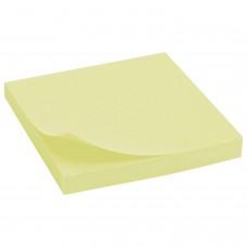 Стикеры NOTES, 100 листов, 76*76 мм, желтые