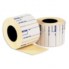 Термоэтикетка с печатью 58*40