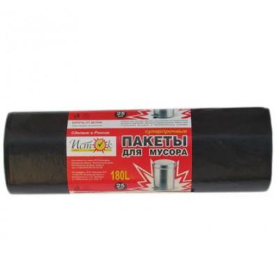 "Мешки для мусора ""Исток""180 л., 25 шт/ рул., 5 рул./ кор."