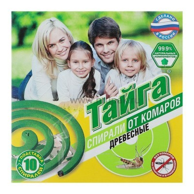 "Средство от комаров спираль ""Тайга"""