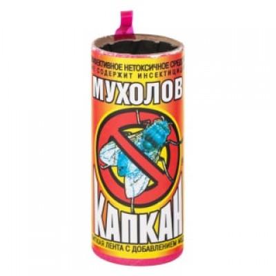 "Липкая лента от мух ""Капкан"", 100 шт/ кор"