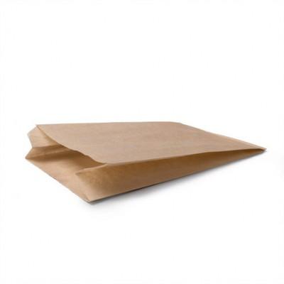Пакет бумажный крафт с плоским дном 170*70*300 мм