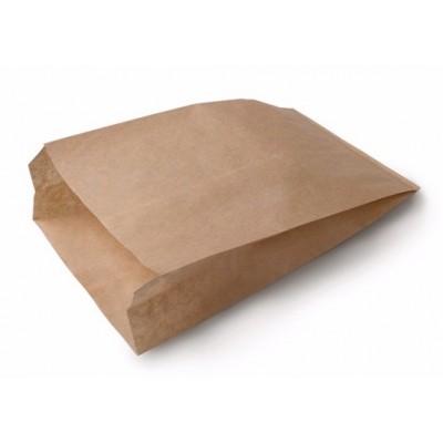 Пакет бумажный крафт с плоским дном 250*100*390 мм