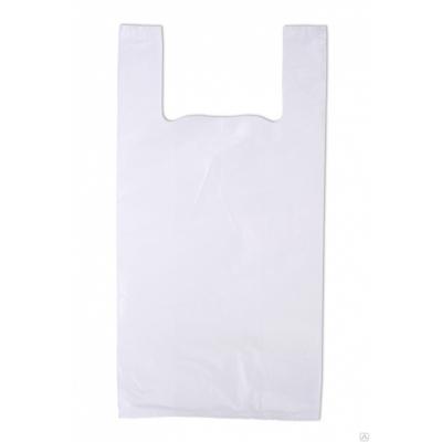 Пакет майка белый 40*68, 15 упак/ мешок