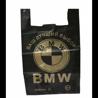 Пакет майка БМВ 40*70 , 10 упак/ мешок