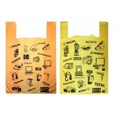 Пакет майка Электроника  37*63 , 10 упак/ мешок