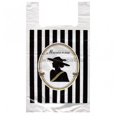 Пакет майка Марианна 30*55, 30 упак/ мешок