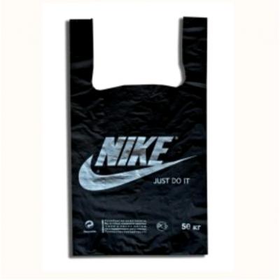 Пакет майка Nike черный 30*55, 30 упак/ мешок
