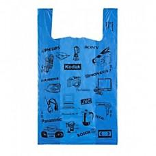 Пакет майка Электроника  38*65 , 10 упак/ мешок