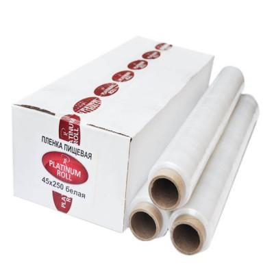 Пленка пищевая Platimum Roll 45*200 ,белая. 6 рул/ кор
