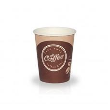 """Стакан бумажный """"Coffee take"""" """"Лига"""" цветной 180 мл, d 73,  2000шт/ кор."""