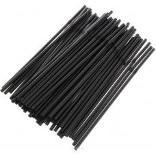 Трубочки для коктейлей черные, 250 шт/ упак, 48 упак/кор
