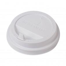 Крышки для бумажных стаканов белые d 80, 1000 шт/ кор.